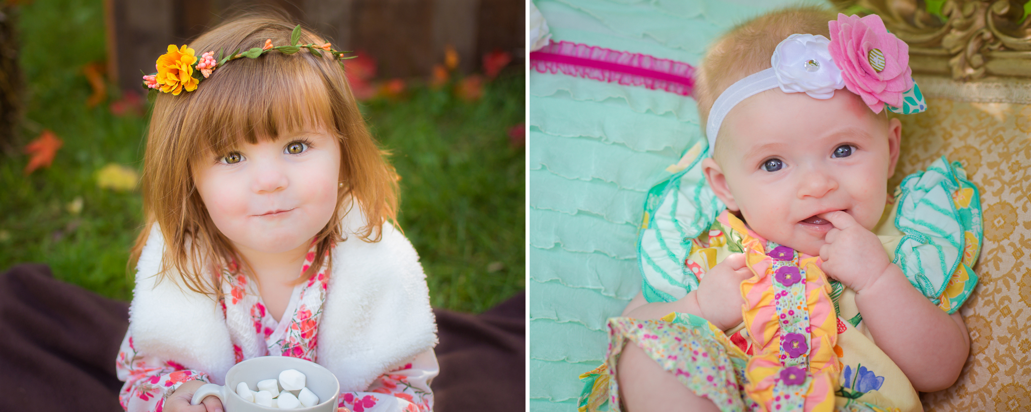 fall cafe shop and Matilda Jane Styled mini sessions