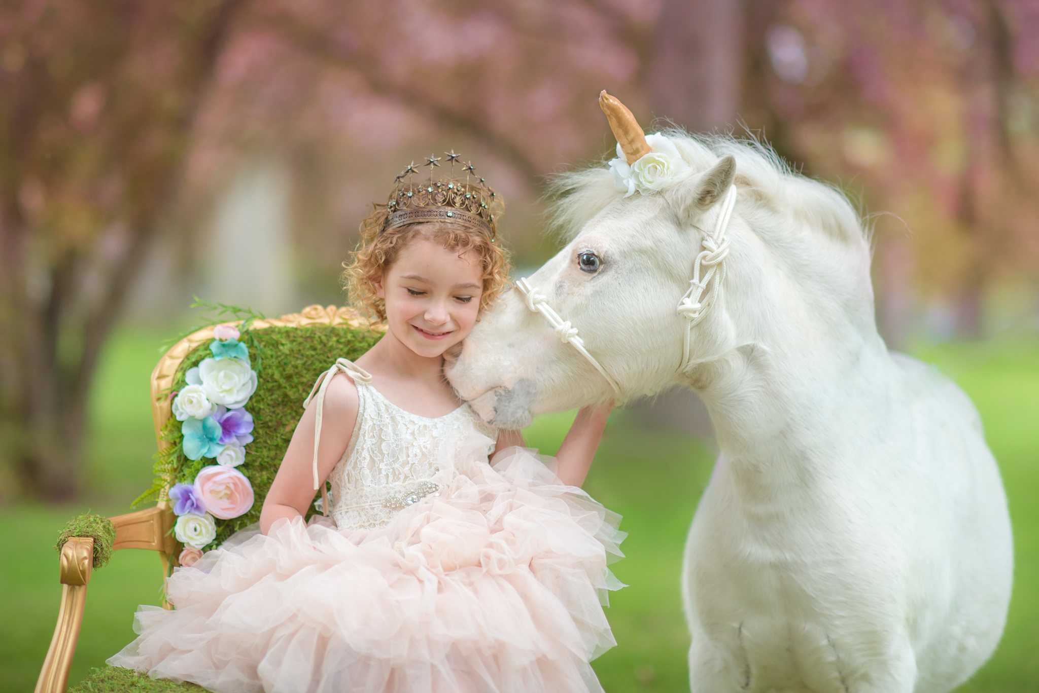 Unicorn Mini Session in Corunna, MI